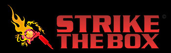 Strike the Box firefighter tattoo logo