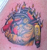 firefighter tattoo on strikethebox.com